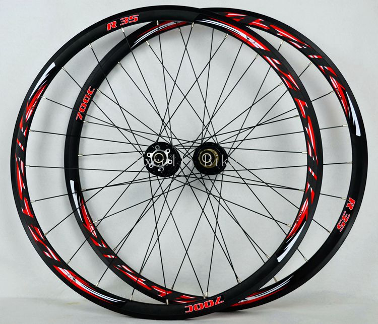 700CC Wheels disc brake road wheels road bicycle road bike V/C brake 30MM alloy rim 29inch Cross-country road bike. light wheel 700cc wheels disc brake wheels road bicycle v c brake 30mm alloy rim 29inch cross country road bike silver frame light wheel