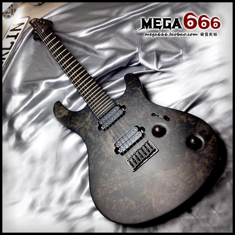 7 string electric guitar mayones regius mbc 7 pepper series locking tuner neck through body. Black Bedroom Furniture Sets. Home Design Ideas