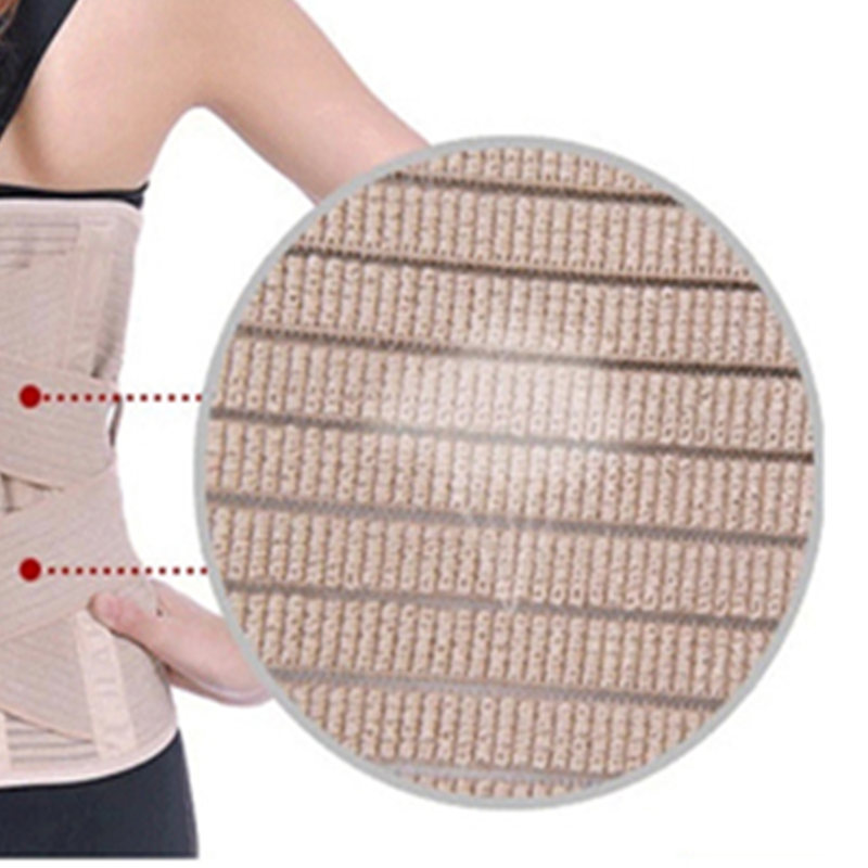 5f11d0f4f Tcare Adjustable Waist Trainer Posture Corrector Widened Health Care Waist  Back Belt Brace Lumbar Support with Warm Patches-in Braces   Supports from  Beauty ...