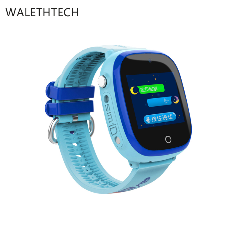 GPS+LBS Children Smart watch with SOS Emergency Camera pedometer smart watch baby learning game touch screenDF25P kids watch