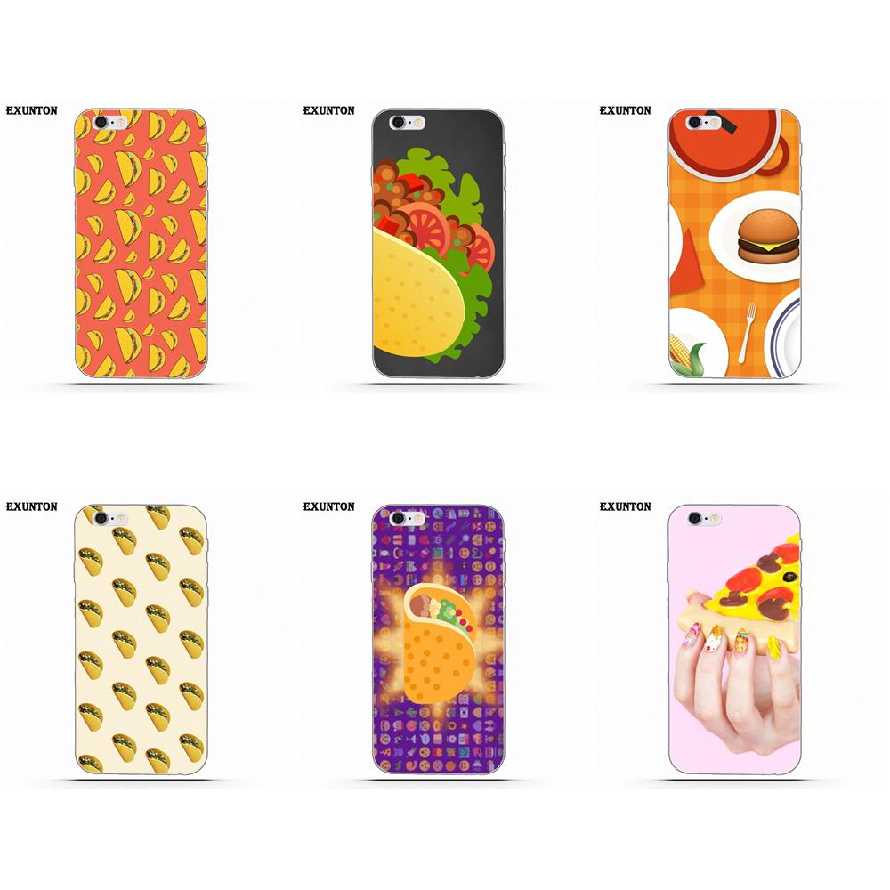 df890e3d8d Taco Emoji Food For Apple iPhone 4 4S 5 5C SE 6 6S 7 8 Plus X For Apple iPhone  4 4S 5 5C SE 6 6S 7 8 Plus X TPU New Style