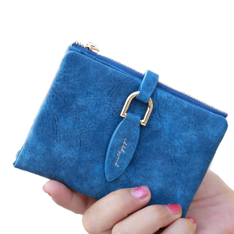Slim coin purse women purse wallet card holder hasp women bag blue cash card thin change purse student girl purse money bag new чехол it baggage для планшета lenovo idea tab 2 a10 30 10 искус кожа черный itln2a103 1