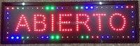 CHENXI светодио дный ABIERTO открыть магазин знак большой Sizel Графика 10x35 дюймов светодио дный анимированные движения Запуск неоновый знак открыт