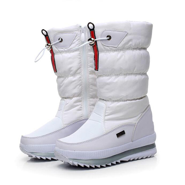 New 2017 women's boots winter shoes thick outdoor non-slip waterproof snow boots for women botas mujer bota feminina
