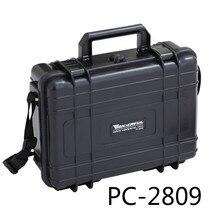 0.8 kg 274 * 218 * 93 mm Abs plástico sellado a prueba de agua caso el equipo de seguridad caja de herramientas portátil caja seca equipo exterior