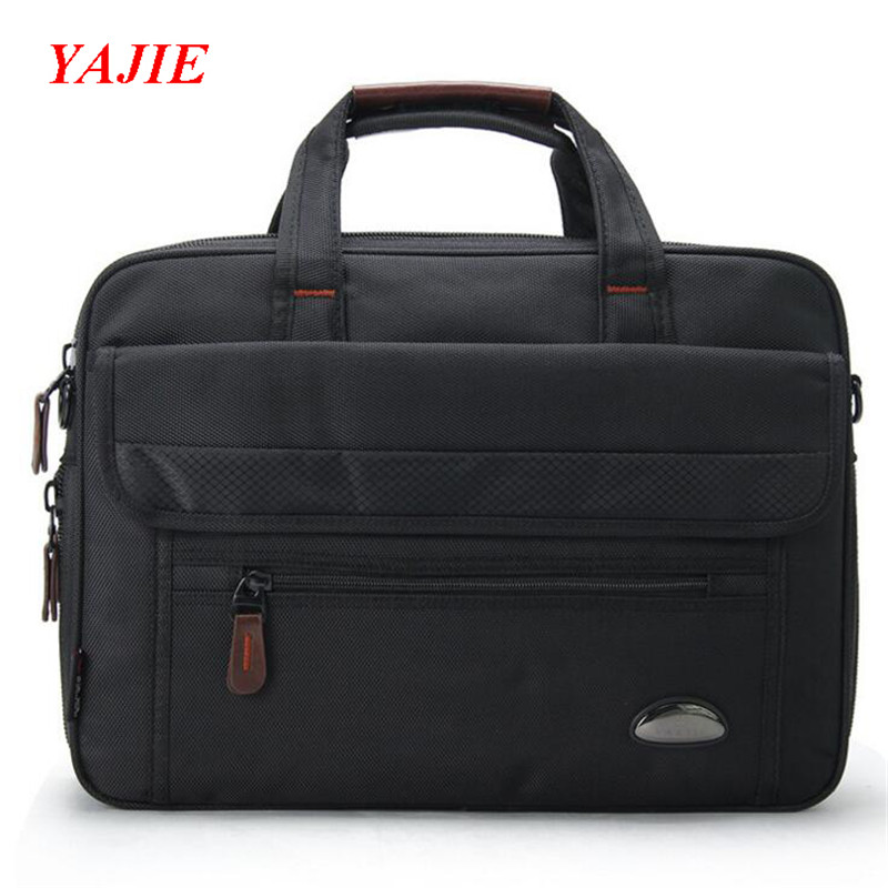 YAJIE Fashion Business Men's Briefcase Brand Men's Handbags Oxford 15.6 Inch Laptop Bag New Male Shoulder Crossbody Bags M550 svc sinbo svc bag3