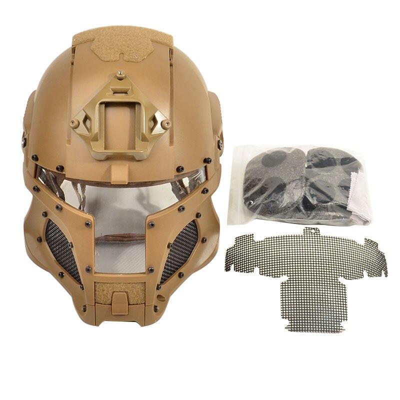 Tactifans Militare Ballistic Helmet Side Ferroviarie NVG Sudario di Trasferimento Manopola di Base di Sport Esterno di Combattimento Dell'esercito Airsoft Paintball
