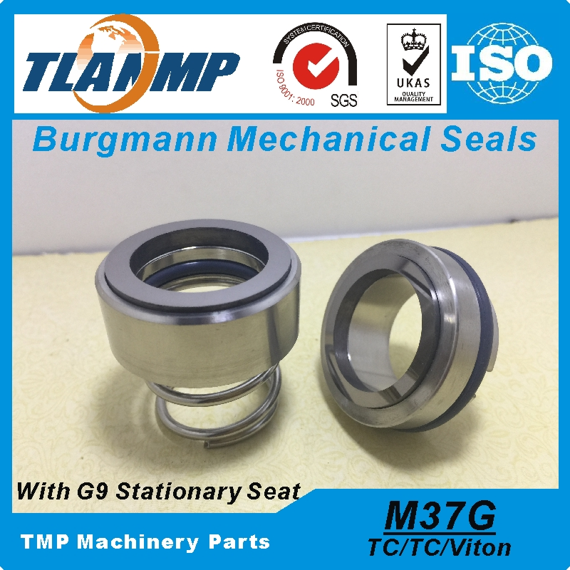 M37G 48 G9 Replacement of Burgmann Mechanical Seals M37G 48 Material TC TC Viton With G9