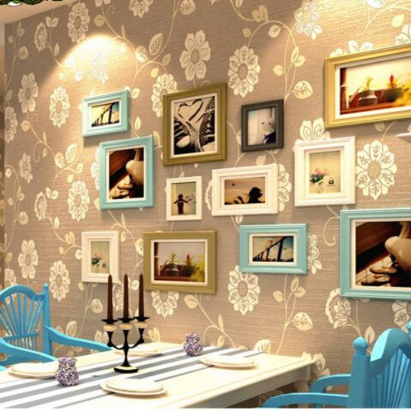 Beibehang European living room 3d wallpaper Beibehang embossed wallpaper Japanese garden home decoration wallpaper for wall 3 d beibehang embroidery wallpaper european