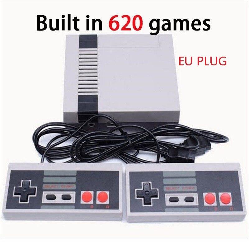 Oivo Мини Ретро Классический игровая консоль встроенный 620 игры 8 бит PAL и NTSC Семья ТВ Ручные игры двойной Игровые