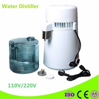 Latest Style High Quality 4L Pure Water Stainless Steel Water Distiller Purifier Body Filter Water Distillation