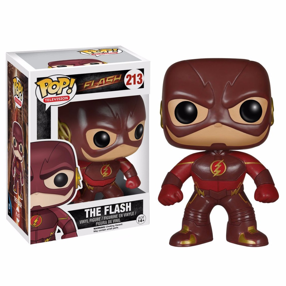 FUNKO POP DC THE Flash pvc action Figure Collectible Model Toy kids gift in box