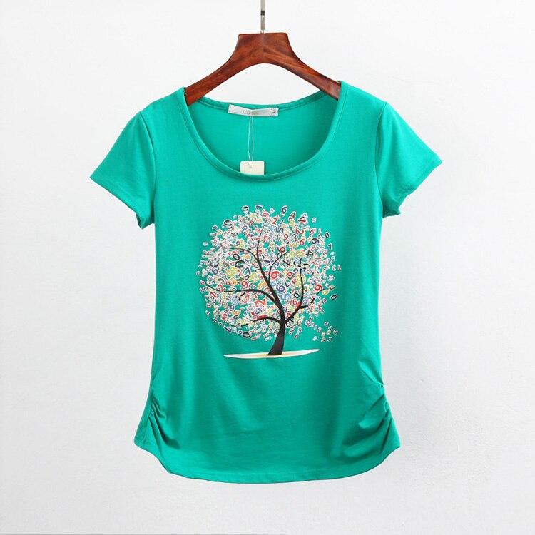 HTB1QvE6QpXXXXcVXXXXq6xXFXXXc - Summer clothing short-sleeve T-shirt female casual shirts