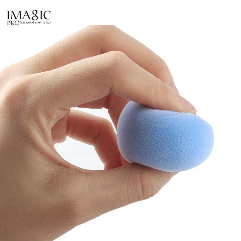 IMAGIC Veludo Maquiagem Esponja de Microfibra Fluff Superfície Cosméticos Puff Maquiagem Liquidificador Esponja de Pó Fundação Corretivo Creme