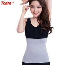 Tcare Health Care Bamboo Fiber Waist Brace Support Belt Breathable Waist Trainer Posture Corrector Slimming Waist Braces