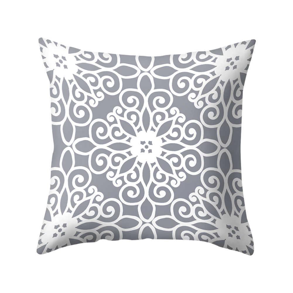 Cw /_ ultra /_ Мандала печать декоративный чехол на подушку наволочки домашний автомобильный декор Ca