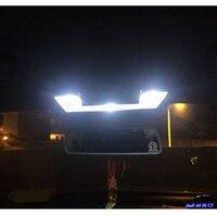 Deechooll 24pcsx Car LED Light for Audi A6 S6 C5 1998-2004,White Interior Lighting Bulbs for Audi A6 C5 4B 98-04 Door lights