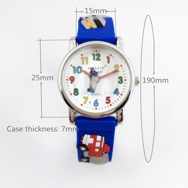 WILLIS Moda infantil Impermeable 3D Camión Diseño Analógico Reloj - Relojes para niños - foto 2