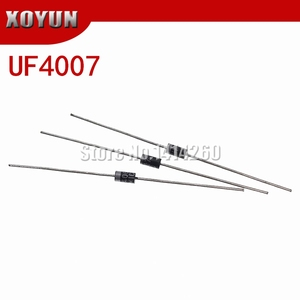 100pcs/lot UF4007 1A 1000V DO-41 Rectifier Diode