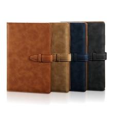 RuiZe A5 hardcover notebook 2020 leder planer agenda organizer büro notebook B5 big business notizblock hinweis buch weiche abdeckung