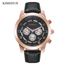 KIMSDUN Mens Watches Top Brand Luxury  Sport Business Military Quartz Waterproof Watch Men Wristwatch High Quality New Arrival