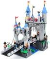 546 unids Iluminación montaje de bloques de construcción de un Castillo Medieval Knight pagoda Carro 1022 juguetes regalo para los niños