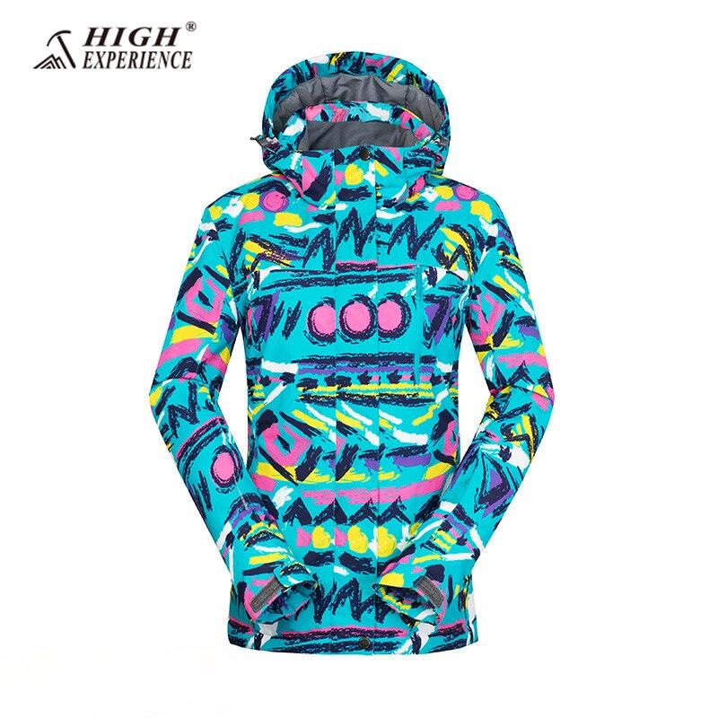 2018 veste de Ski pour femmes veste de neige d'hiver femmes vestes de snowboard femme imperméable manteau d'hiver femmes vestes de Ski thermique