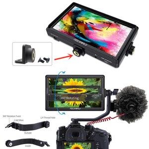 Image 3 - Feel world FW568 5.5 بوصة IPS 4K على كاميرا جهاز المراقبة الميدانية ل DSLR HDMI صغير كامل HD 1920x1080 الفيديو التركيز مساعدة مع الذراع الميل