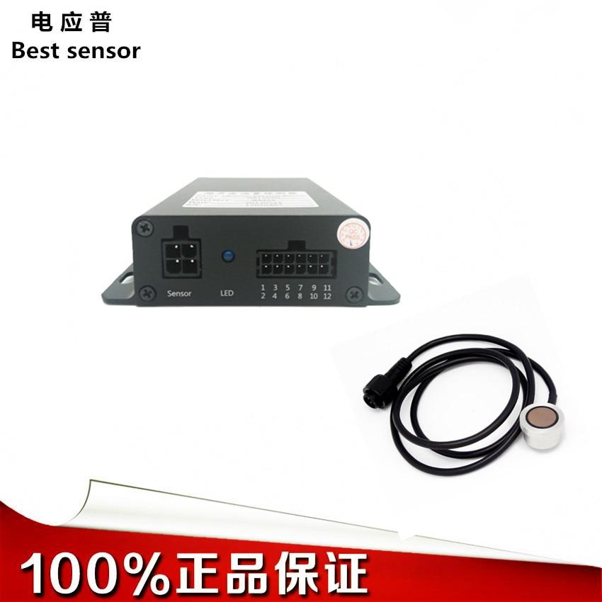 Surveillance à distance du contrôleur de consommation de carburant pour les véhicules d'assainissement de l'environnement avec détecteur de niveau à ultrasons personnalisé