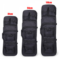81/94/118cm Nylon Rifle Gun Case Bag Tactical Military Hunting Bag Airsoft Holster Gun Bag Rifle Accessories Protection Backpack