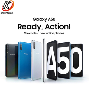 "Image 5 - Yeni Samsung Galaxy A50 A505GN DS 4G cep telefonu 6.4 ""6GB RAM 128GB ROM Exynos 9610 Octa çekirdek üç arka kamera Android telefon"