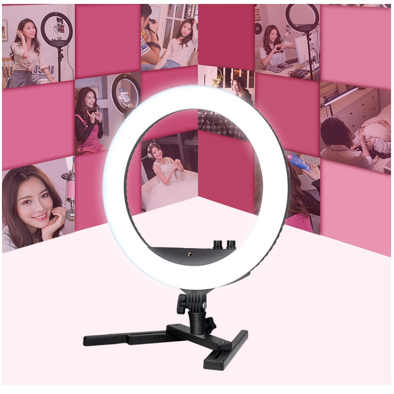 Mamen Camera Video Studio Photography Lighting 240 LED Light Ring Flash 24W 3200K 5600K Stepless Dimming 3m Cable 2018