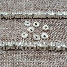 Карен Хилл племя серебряные квадратные разделители бусины для браслета ожерелье