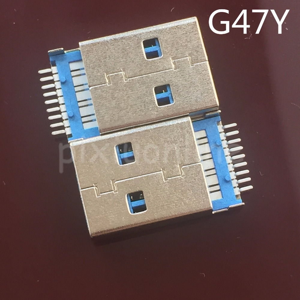 5pcs G47Y USB 3.0 A Type Male Plug Connector For High-speed Data Transmission Free Shipping Brazil