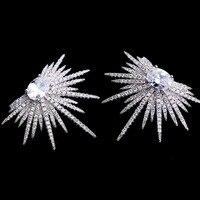 Vintage bijoux Punk Stil Spike Form funken beleuchtung ohrstecker brincos modeschmuck für frauen