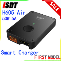 ISDT H605 Air Smart Charger 50W 5A DC 2S 6S Mini Bluetooth Lipo Battery Charger Android APP for RC Drone FPV Racing Accs