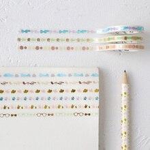 5mm x5M Life series paper washi tape DIY Decorative scrapbooking sticker album Scrapbook masking adhesive tapes