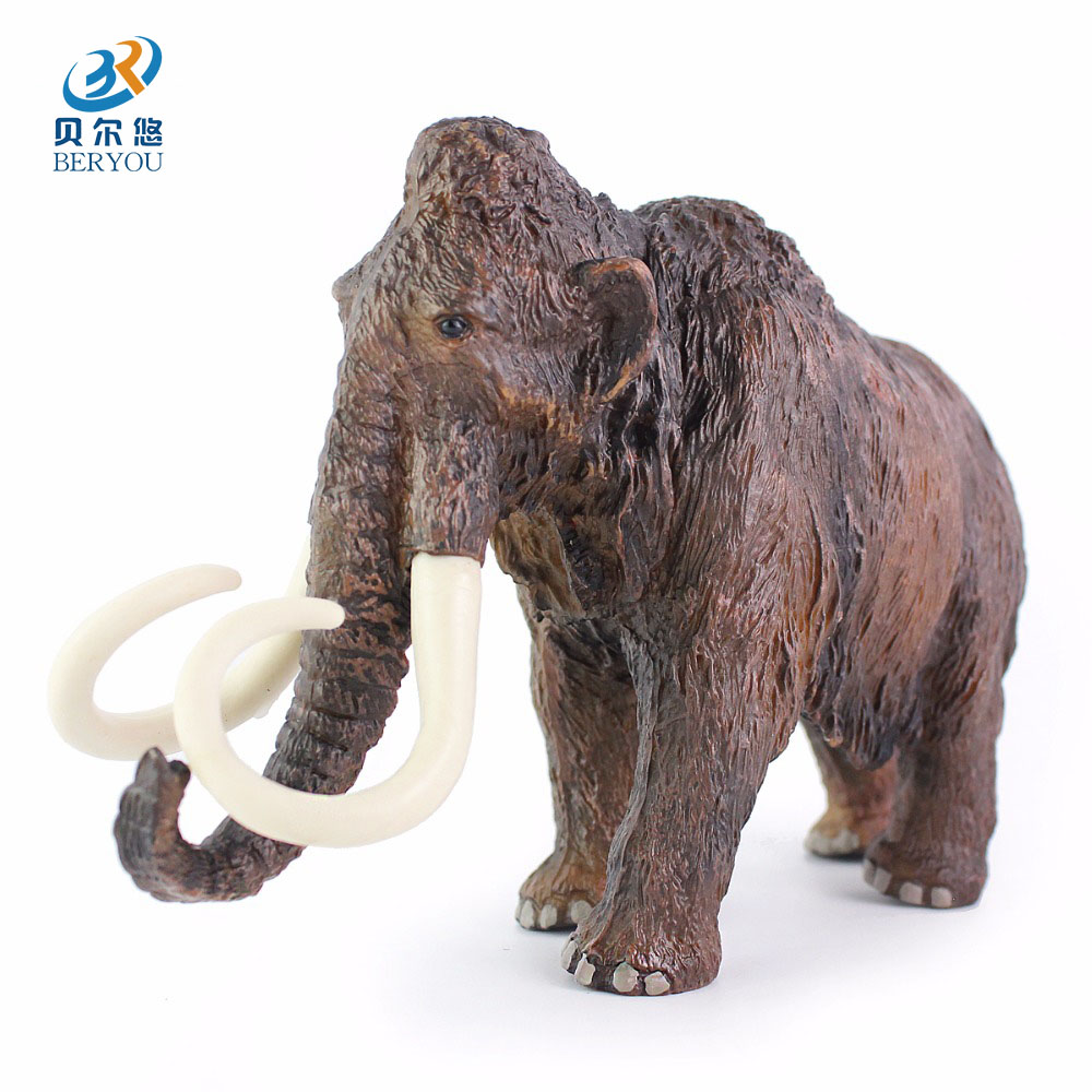 African Elephant Toys For Boys : Beieryou big size africa elephant mammoth wild animal