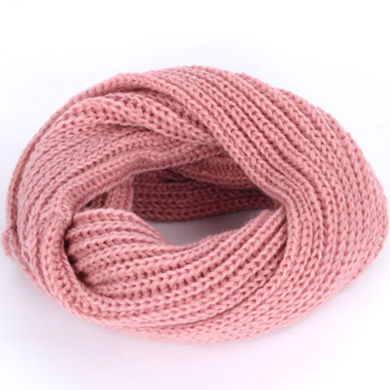 Children   scarf   winter knit soft warm light-weight red blue circle ring   scarves   Slouchy kids neck   scarf     wraps   Boys Girls baby