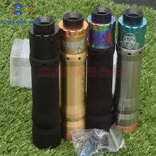 все цены на NEWEST arrival Kennedy Vindicator 25 mod 18650 battery Mechanical Mod vaporizer Mech mod e-cigarette kit vs AV or Rogue MOD KIT онлайн