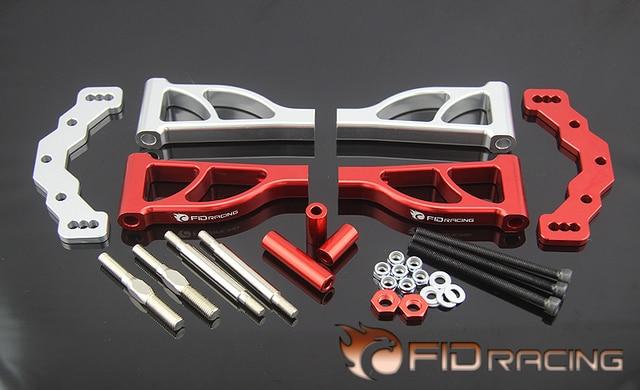 FidRacing rear upper suspension arm set for 1/5 LOSI 5IVE-T 5T