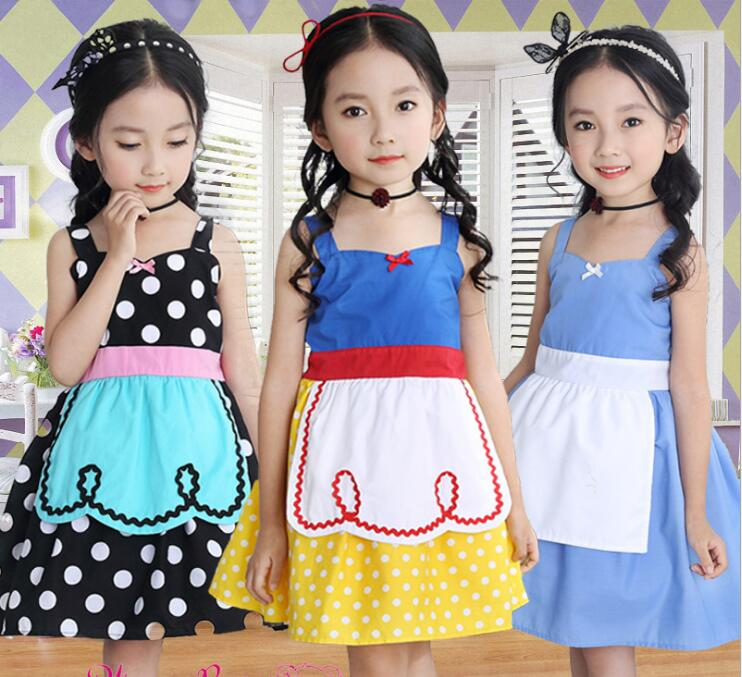 cartoon Dress for Girls Dresses Alice in Wonderland Dot Halloween Princess Cosplay Costumes Baby Girls Toddler Kids Clothes