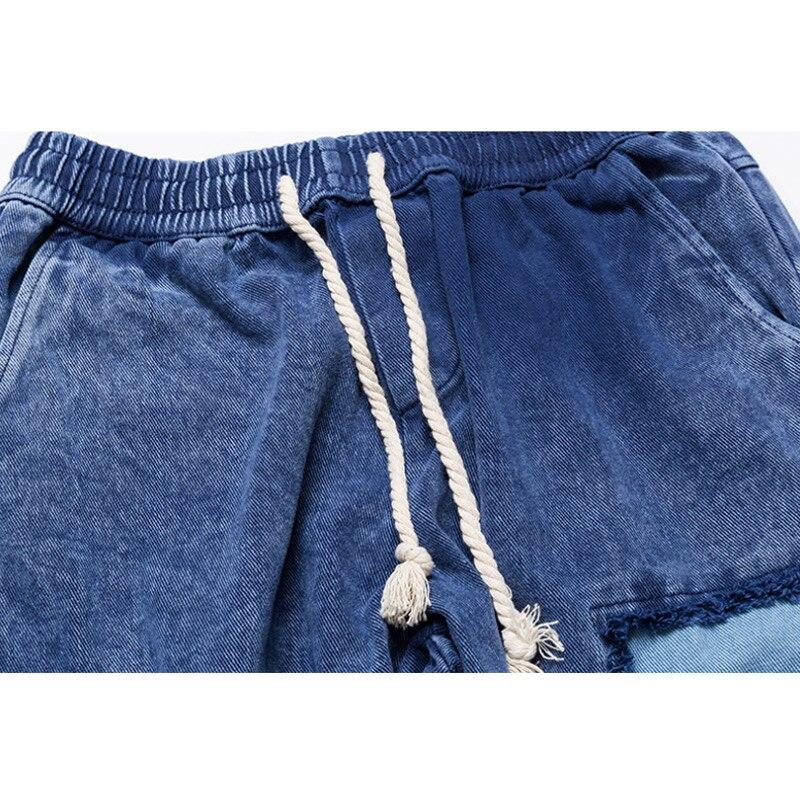 Di Denim Pantaloni Biker Jeans Strappati Cotone Laterale Cerniera Modo  Skinny Per Larghi Aolamegs Uomini Blocco orange Streetwear Blue Uomo ... 39a88e58d2db