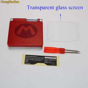 Image 4 - 4モデル選択ガラスプラスチック画面限定版フルハウジングシェルケースカバーゲームボーイアドバンスgba sp部品セット