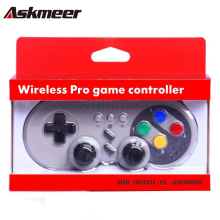 ASKMEER Wireless Controller for Nintendo Switch /PC/Android Bluetooth Gamepad Compatible with Console