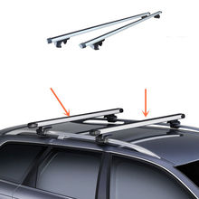 2PCS Top Roof Rack Rail Mount Aluminum Adjustable For Subaru Outback  2015 2016