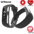 DiTelone M2 Wristband Bluetooth Smart Band Heart Rate Monitor Pedometer Oxygen Oximeter Tracker Sport Bracelet For iOS Android