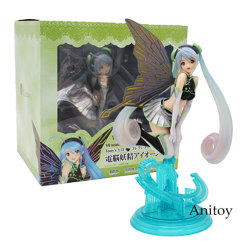 Anime Tony's Heroine Kotobukiya Collection Computer butterfly Fairy PVC Figure Collectible Model Toy 18cm lorde pure heroine