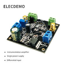 AD620 Voltage Amplifier Module Differential Single-Ended/Differential Small Signal Instrumentation
