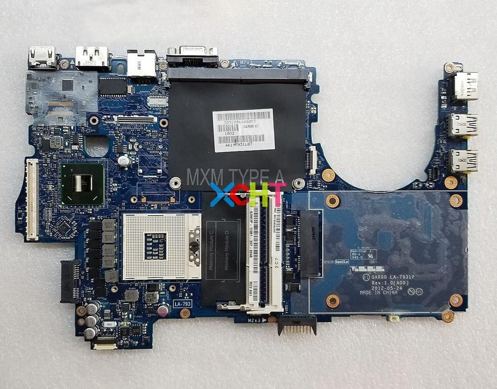 for Dell Precision M4700 LA 7931P CN 0J867P 0J867P J867P Laptop Motherboard Mainboard Tested